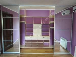 гардеробная шкаф мебельвей